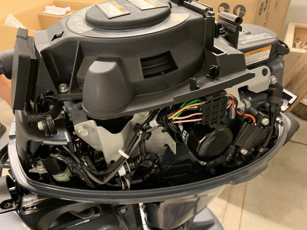 Yamaha ACTIE 20pk 15pk  F20BMHS foto: 9