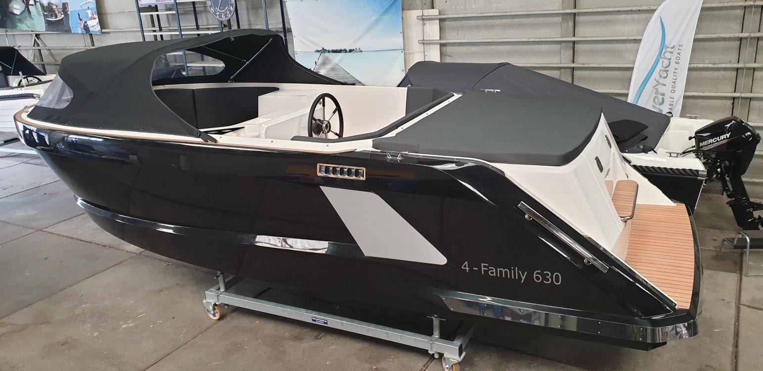 4 Family 630 Tender met 30pk Suzuki + GRATIS STALLING!  foto: 0