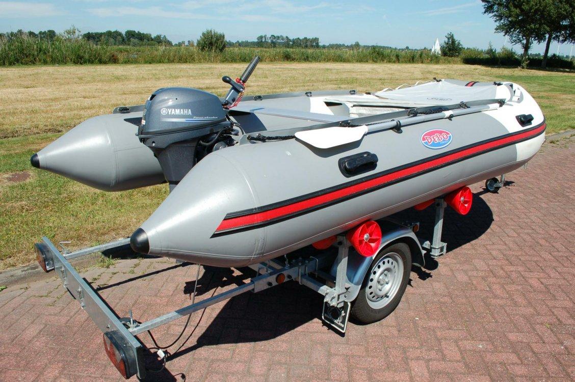 Debo ZB400 Rubberboot foto: 1