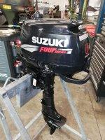 Suzuki DF6S 4-stroke short-tail with remote control