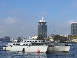 Eigenbouw Catamaran