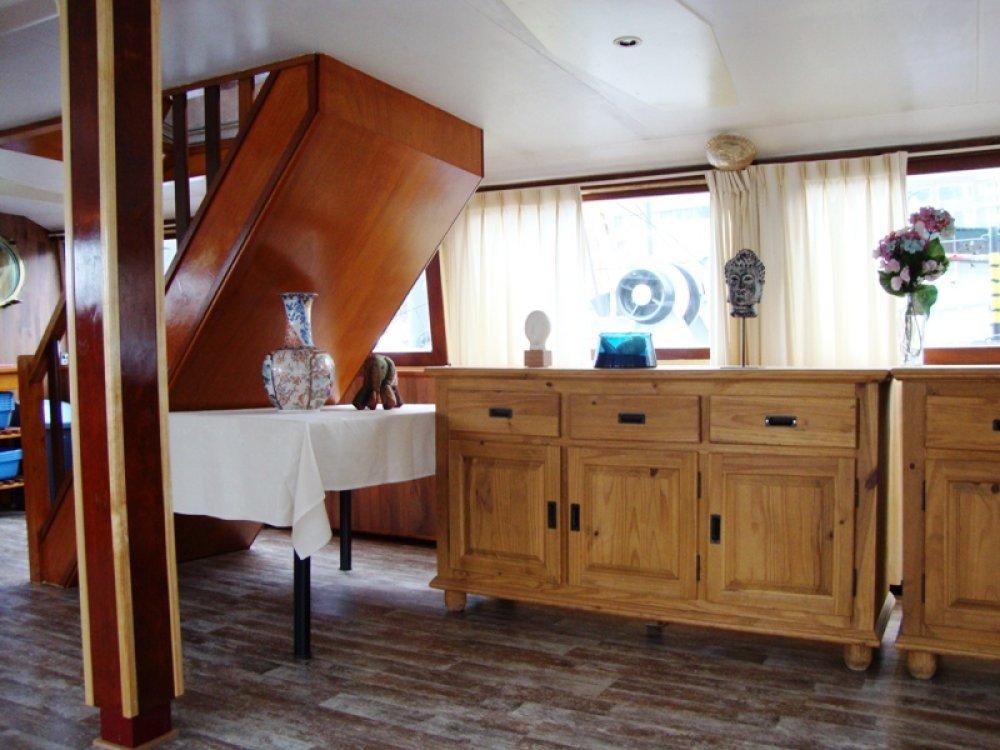 Partyschip 200 pass. Historische salonboot foto: 8