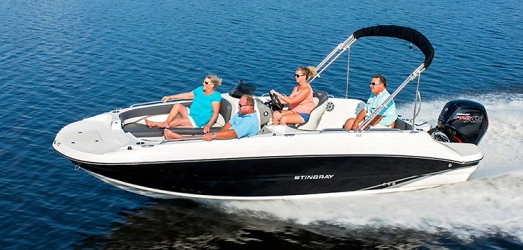 Stingray 192 SC Outboard foto: 0