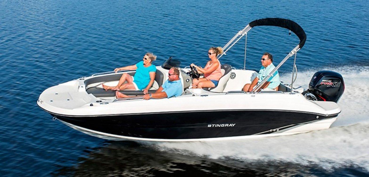 Stingray 192 SC Outboard foto: 0