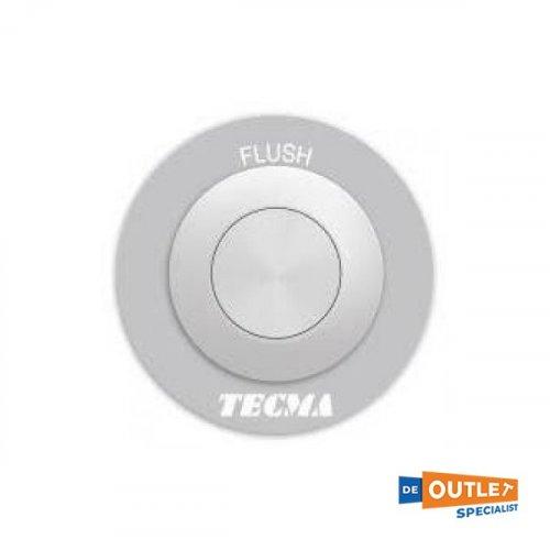 Tecma toilet knop zilverkleurig bedieningspaneel - T- PF.P11A1 foto: 0