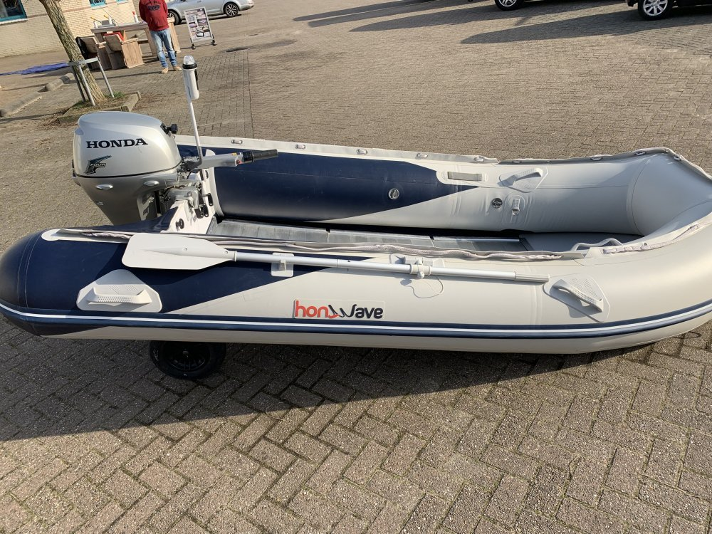 Honda Honwave T35 3,5M Rubberboot 8pk 4takt foto: 2