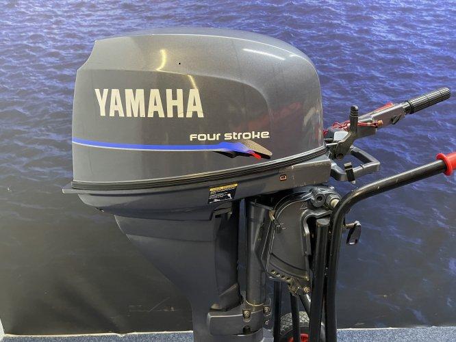 Yamaha 25 pk Langstaart elektrische start knuppel foto: 0