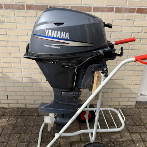 Yamaha 15 pk Kortstaart afstandbediend 4tak foto: 1