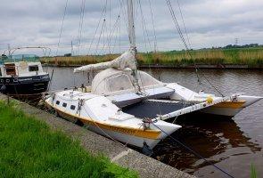 Catamaran wharram Tane