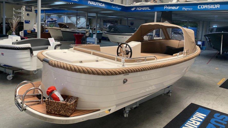 Primeur grachtenboot 570 Bun foto: 1