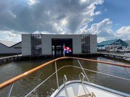 Überdachtes Bootshaus