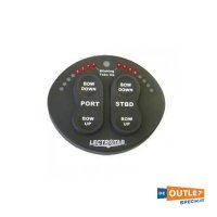 Lectrotab zwarte  2 in 1 ovale LED-controller - SETR-61