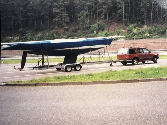 5.5 international class Open zeilboot foto: 0
