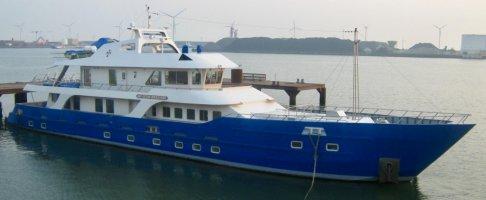 Dutch Shipyard Crossover Vessel/Yacht