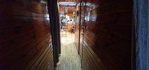 ex bunker schip woonboot/ recreatieschip foto: 2