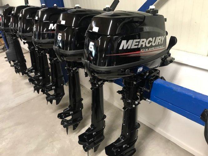 Mercury 4,5 en 6 PK motoren nieuw  foto: 1