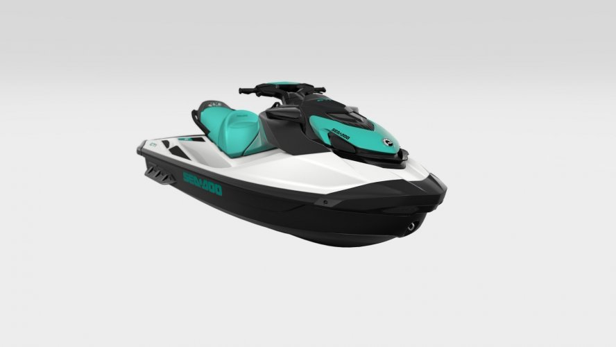 Sea-doo GTi 90 White / Reef Blue foto: 0