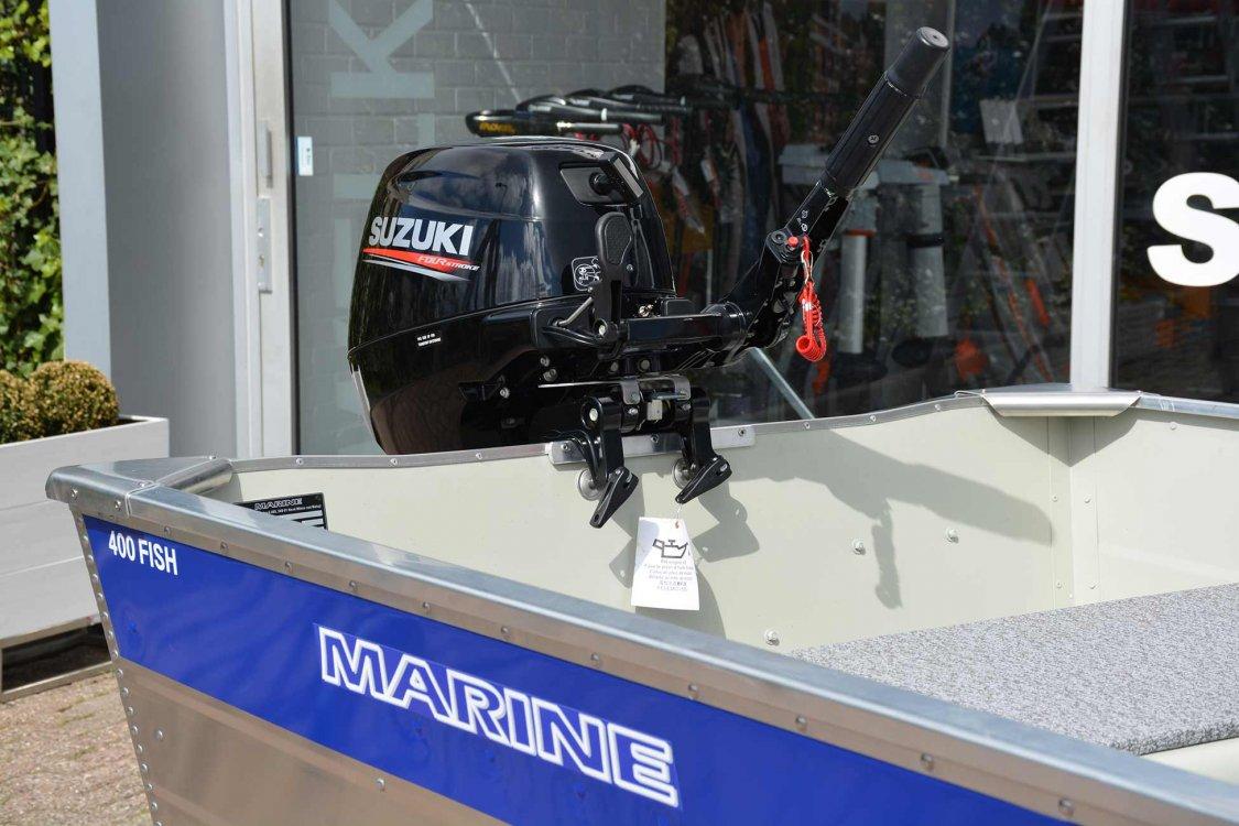 Marine 400 Fish Aluminium  visboot zeer scherp geprijsd!  foto: 7