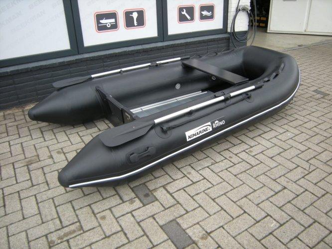 Nimarine (Brig, Zodiac)  290 (Black Rhino) met aluminium vloerdelen  foto: 0