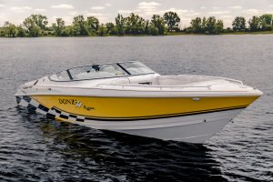 Donzi 28 ZXO Bowrider Scorpion 2x Mercruiser 377 Racing UNIEK (26 ZX 22 ZR)
