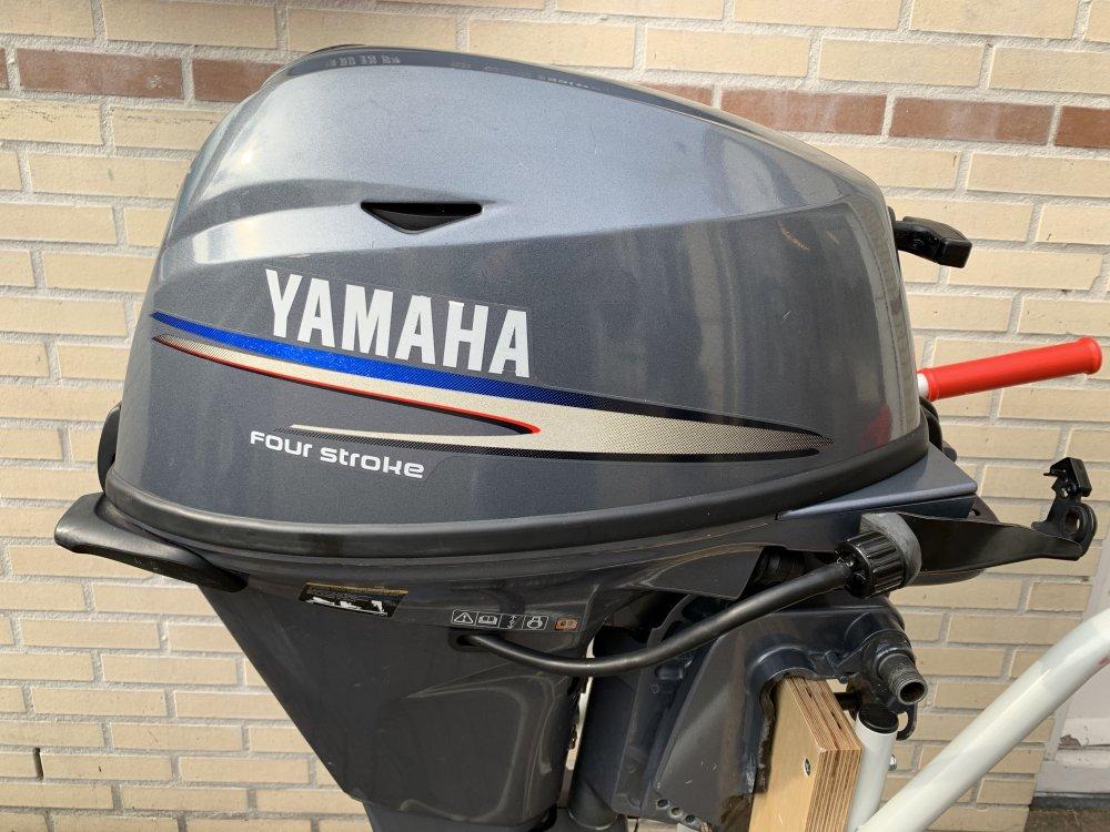 Yamaha 15 pk Kortstaart afstandbediend 4tak foto: 2
