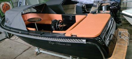 Prachtige Lago Amore 590 Tender met 30pk &BOMVOL EXTRA'S