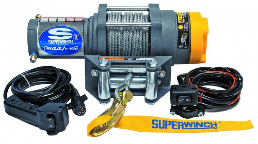 Superwinch Terra 25 - Steel cable photo: 0