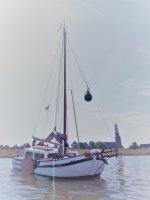 Tjalk Ex professionelle Schiffe segeln