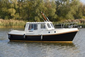 Grommer 800 deluxe Motorboot