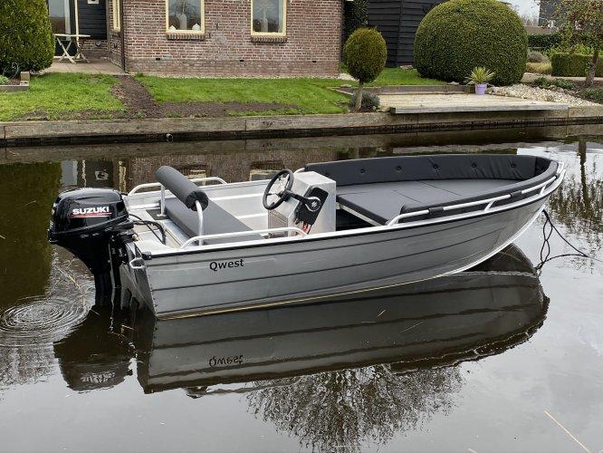 Qwest R400 / R450 / R500 Aluminiumboot NIEUW!  foto: 0