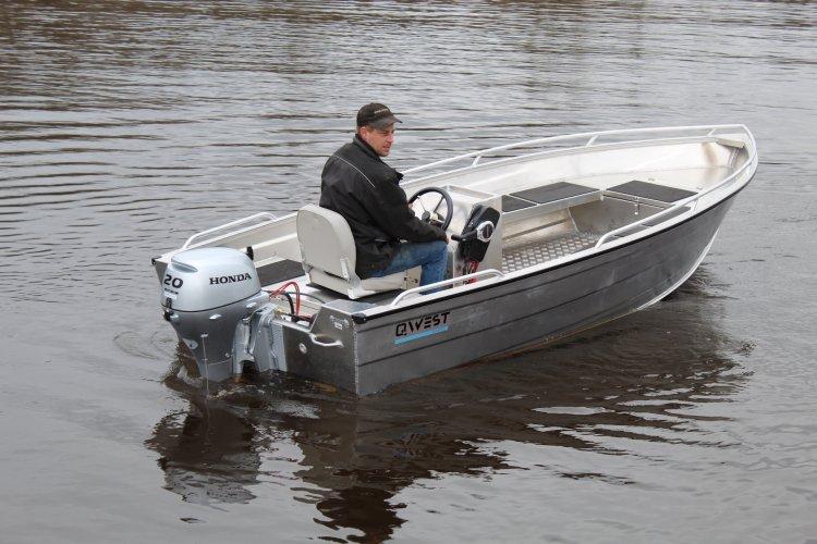 Qwest aluminium boten! 380 / 420 / 450  foto: 0