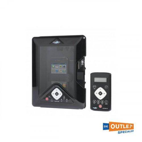 Aquatic AV marine stereo dock station, telefoon/tablet locker - 4x45W - AQ-DM-5UBT foto: 0