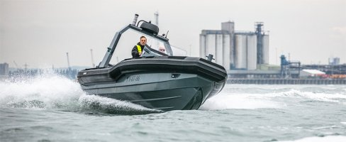Stormer Rib 75 outboard