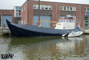 North Sea Botter Péniche à voile