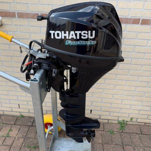 Tohatsu MFS9.8EPL 9.8pk afstandbediend elec. start foto: 1