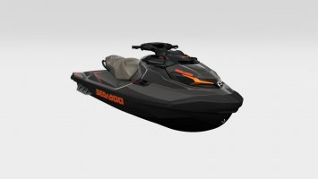 Sea-doo GTX 230 Eclipse Black / Orange Crush