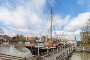 Luxe Woon & Hotelschip Nederlandse 2-Mast-Clipper
