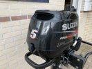 Suzuki ZGAN 4PK 5PK 4takt buitenboordmotor 2x nette staat foto: 1