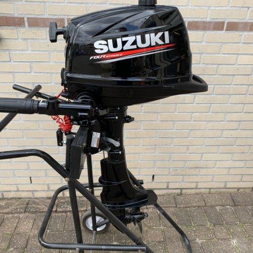 Suzuki DF6AS 6pk Nieuwste type buitenboordmotor 4takt foto: 1