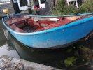 Grachten bootje vletje, Staal hout  foto: 0