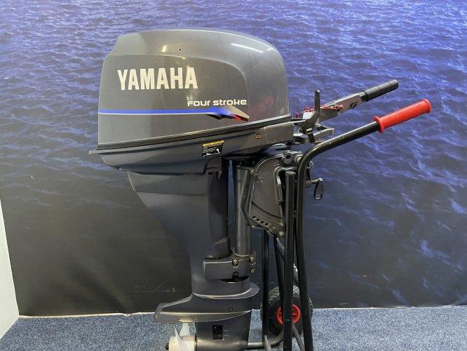 Yamaha 25 pk Langstaart elektrische start knuppel foto: 1