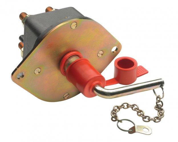Accu-hoofdschakelaar 250A (2500A/ 5 sec) 2 polig  foto: 0
