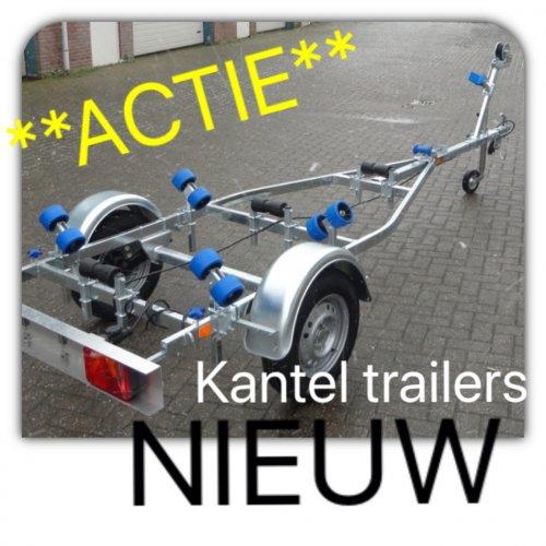 ***ACTIE*** Kanteltrailers !!by FelorWatersport OP=OP  foto: 0