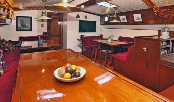 Charterschiff / Hausboot Klipperaak