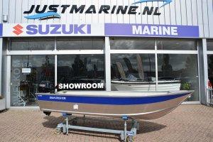 Marine 400 Fish Aluminium  visboot zeer scherp geprijsd!
