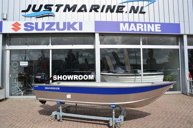 Marine 400 Fish Aluminium  visboot zeer scherp geprijsd!  foto: 0