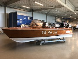 Oldtimer Klassieker motorboot Unieke oldtimer sportboot