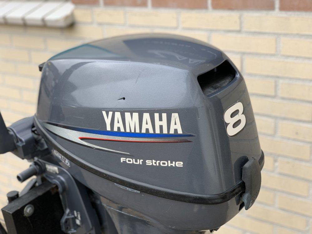 Yamaha 8pk Langstaart 4takt buitenboordmotor foto: 0
