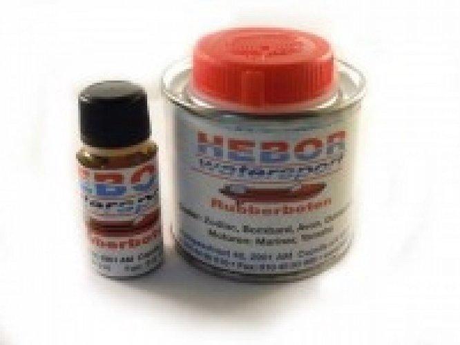 2 comp. Rubberboot lijm PVC en Hypalon 125 / 400 en 750ml lijm foto: 1