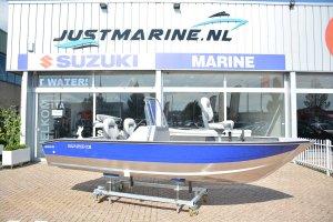 Marine 500 Fish SC DLX aluminium visboot voor profs.